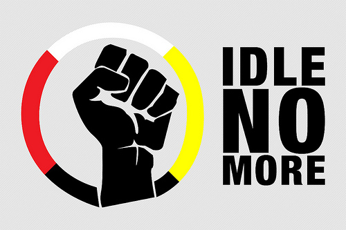 idle no more canadian aboriginals essay Idle no more is an ongoing protest movement originating among the aboriginal peoples in canada comprising the first nations, metis and inuit peoples and their non-aboriginal supporters in canada, and to a lesser extent, internationally it has consisted of a number of political actions worldwide.