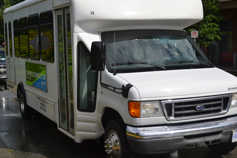 The UFV shuttle is only one inter-community transit option.