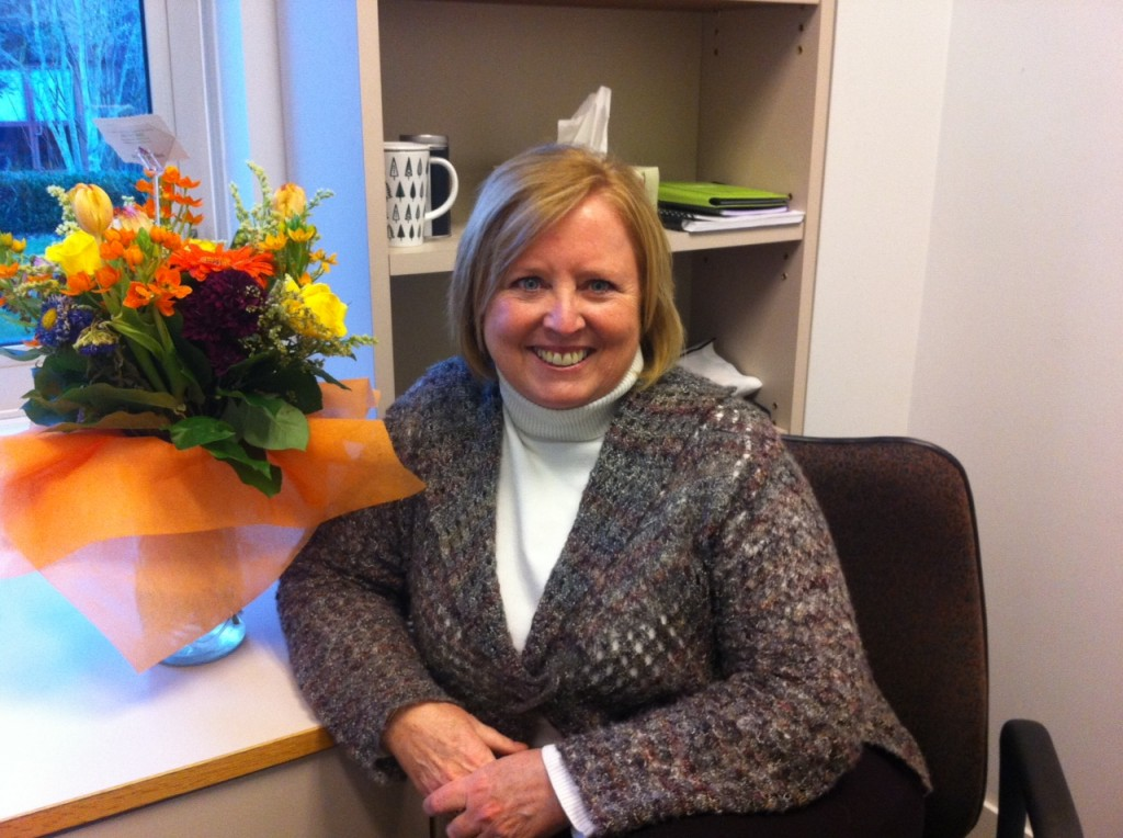 Maureen Wideman settles into her new position as UFV's director of teaching and learning. (Image credit: Jess Wind)
