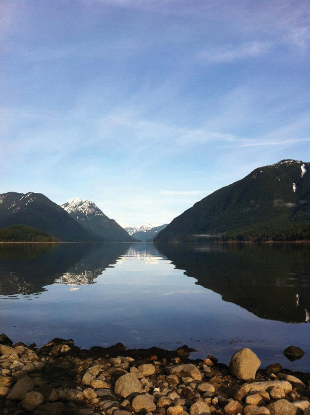 The mountains, air, and lakes of Maple Ridge are good for you.  (Photo credit: Valerie Franklin)