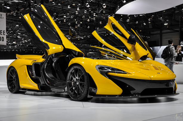 McLaren borrows airplane technology for windshield wipers.