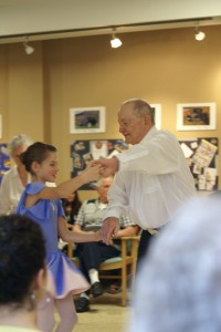 Children and seniors learned dance together as part of an intergenerational project captured on film by MACS professor Darren Blakeborough. (Image:  University of the Fraser Valley)