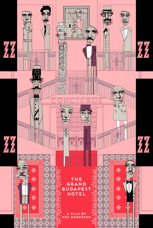 (The Grand Budapest Hotel is full of quirky but elegant style inspiration.)