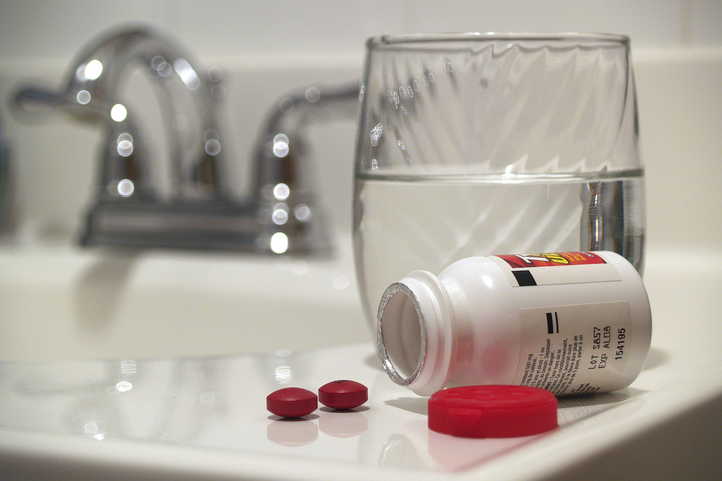 It can be easy to add a pill or two to the label's suggested dose, but recent studies show this might not be smart. (Image:  Jerry Bowley/Flickr)
