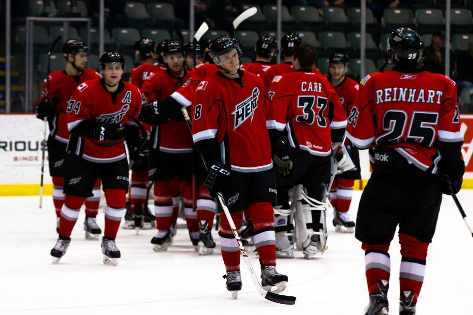 Heat closer to clinching playoff spot after win over Icehogs