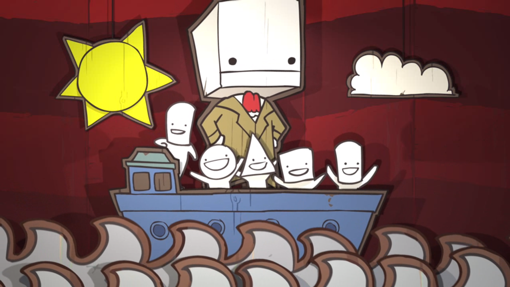 """I said 'I like your hair,' not 'will you marry me!'"" (Image:  levelsave.com/ Battleblock Theatre)"