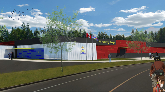 The new RCMP firing range will find its home across the street from the Trades and Technology Centre. (Image: UFV flickr)