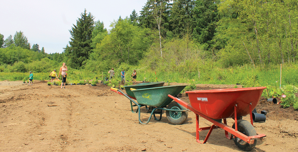 "The edible garden will take up a two-acre portion of the site proposed for a ""Dignity Village"" by the Abbotsford Dignitarian Society."