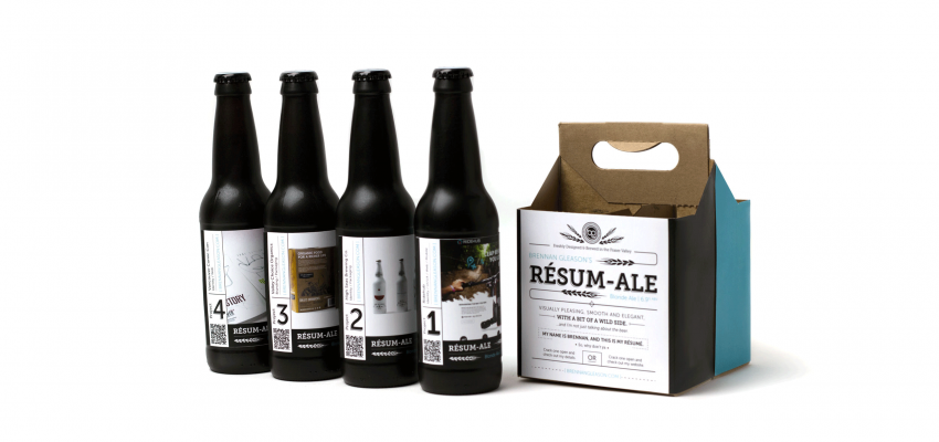 Gleason's Résum-ale wins the internet: An interview with the guy who put his resumé on a box of beer