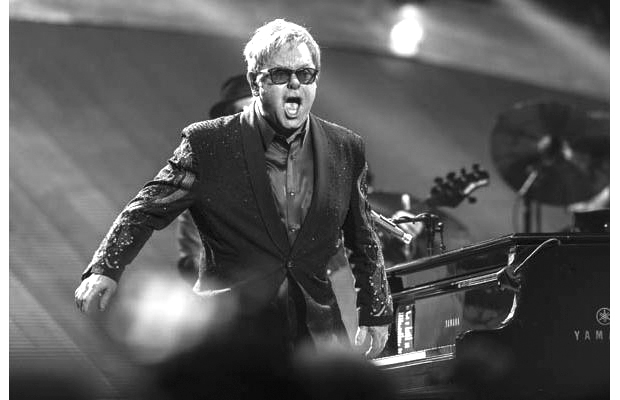 Elton John has been performing his hits since the  '70s — and he's still going strong.