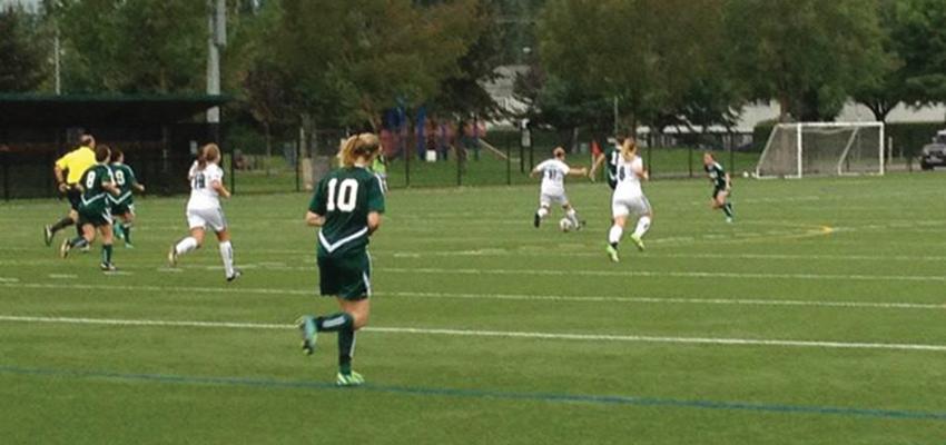 Cascades soccer team enjoys the home field advantage throughout a winning weekend