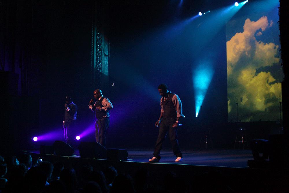 They're no longer teens, but Boyz II Men can still make your heart throb. (image: Eva Rinaldi)