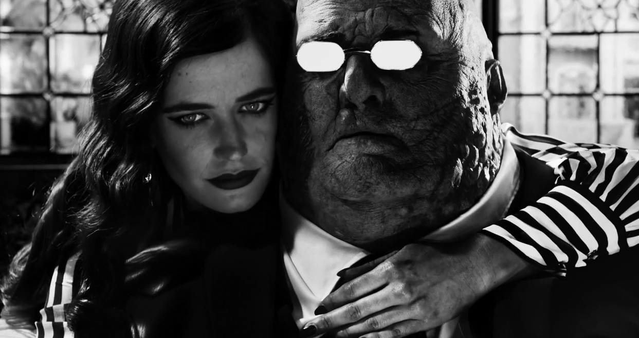 Sin City's gritty, graphic-novel-style world is back with A Dame to Kill For.