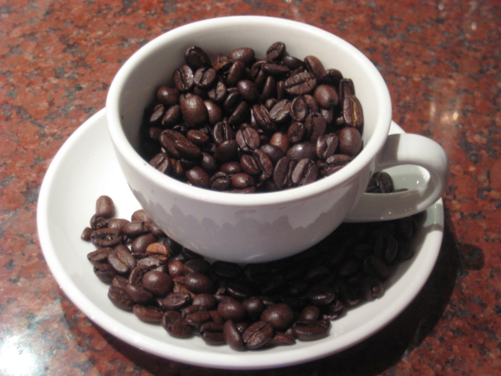 Caffeine has a similar structure to adenosine, enabling it to bind with receptors in your brain. (Image:  Amanda/ Flickr)