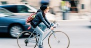 Pedestrians beware! A bike bell can't compete with your iPod tunes