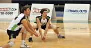 Volleyball teams open regular season