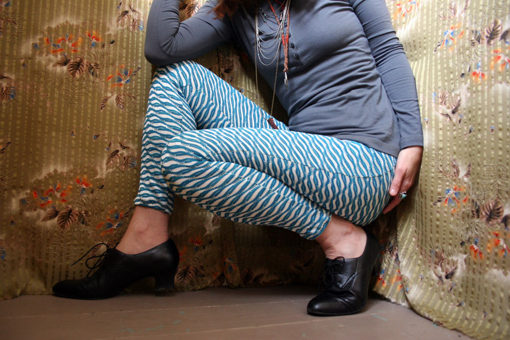 Patterned pants have been making a statement on the UFV campus this fall, and not only on the ladies.  (Image: Be wakeful /Flickr )