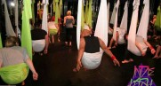 """""""Antigravity"""" yoga offers mental and physical benefits beyond regular, earth-bound exercise"""