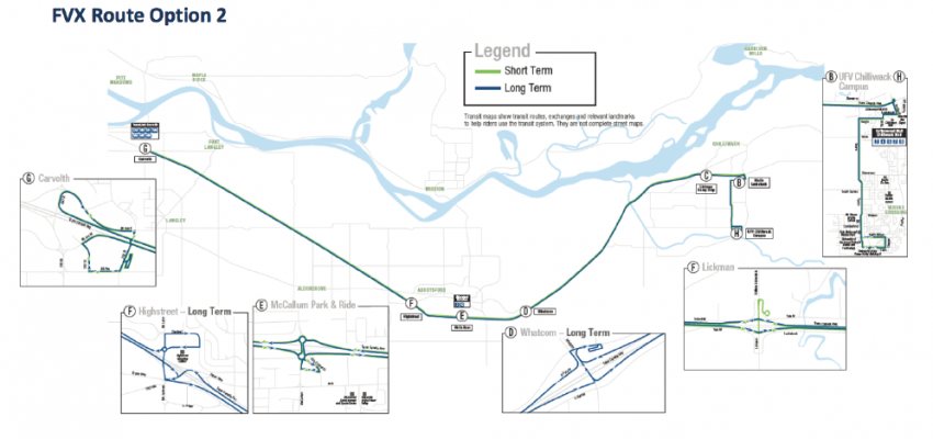 Public transit discussion comes to Langley: New shuttle may beat Fraser Valley Express