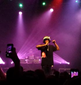 Crowd raps along to Joey Bada$$