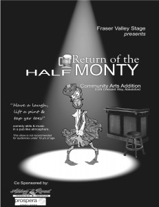 Half Monty returns with a interactive and fully licensed variety show.