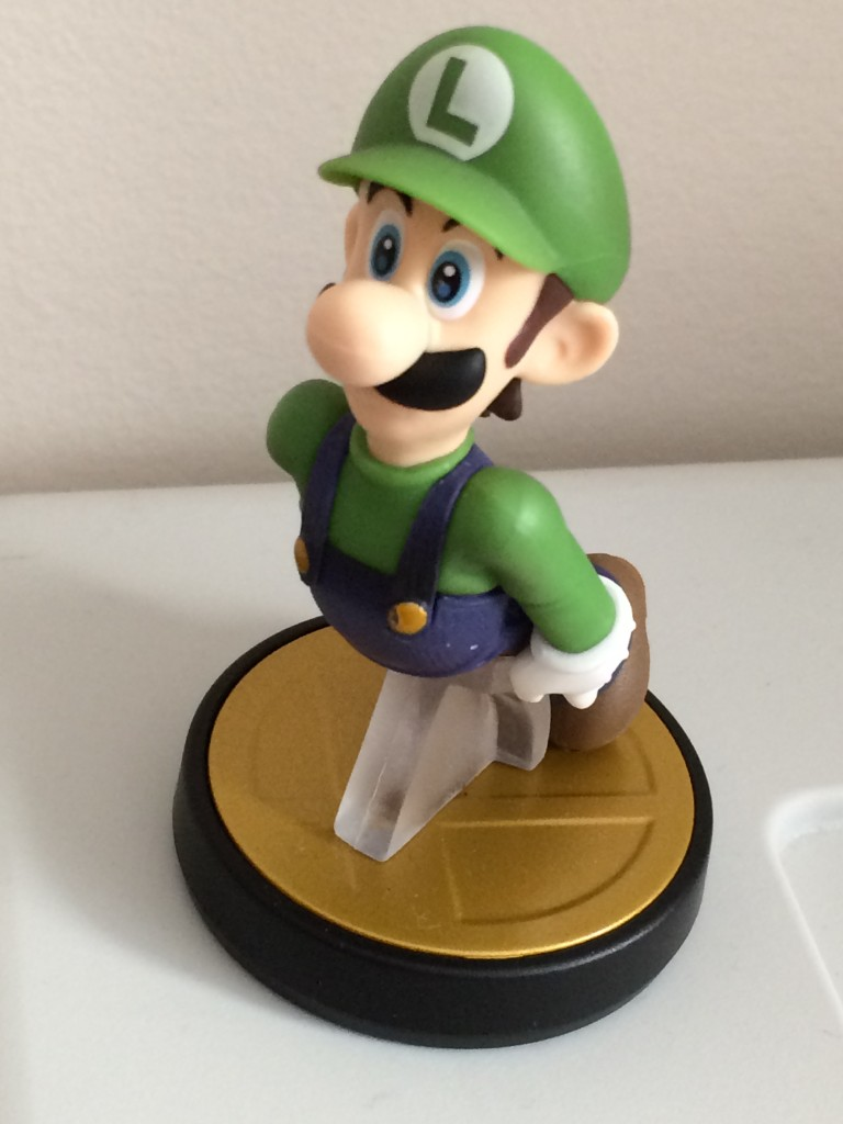 This little Luigi could become a highly trained NPC character.