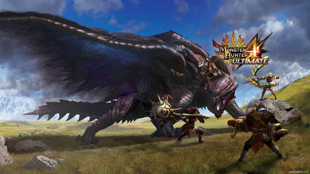 Gore Magala is the new flagship monster in MH4. (Image: noelshack.com)
