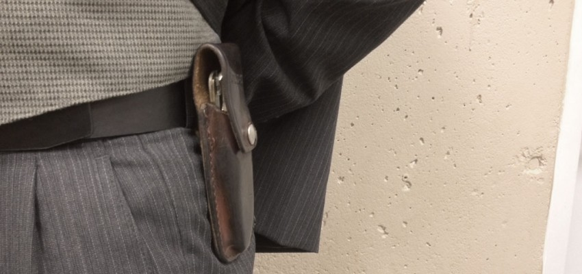 Should UFV students be allowed to openly carry hunting knives on campus?