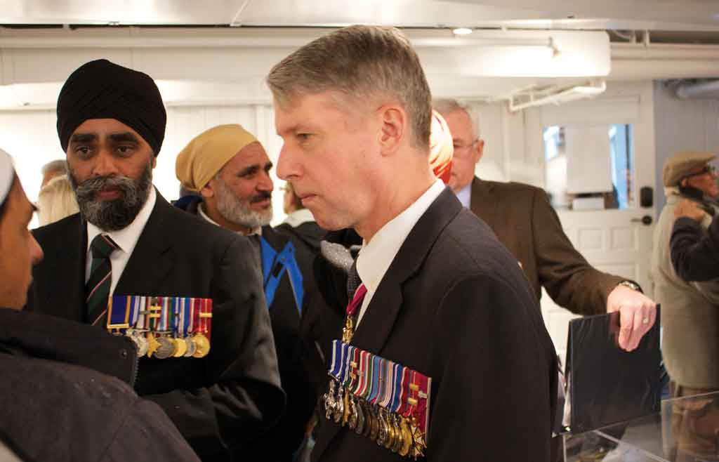 Canadian Sikhs in WW1: The Forgotten Story is hosted at the 105-year-old Gur Sikh Gurdwara. (Images: Centre for Indo-Canadian Studies / flickr)