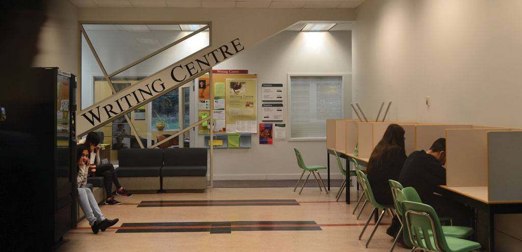 The Writing Centre will become the Academic Success Centre in Fall 2015.  (Image: Megan Lambert)