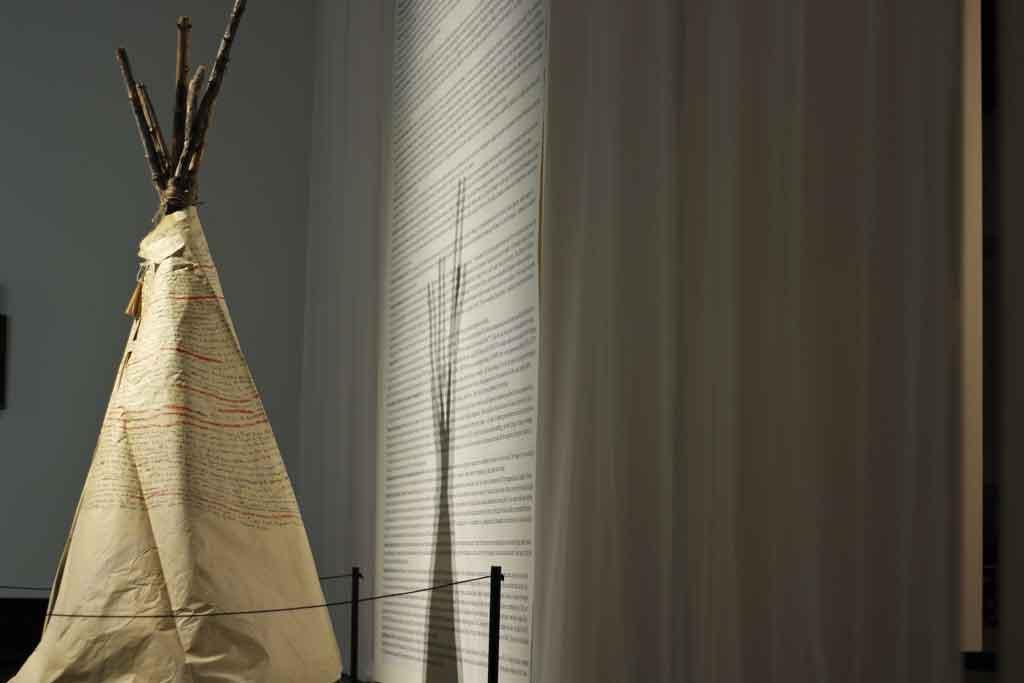Decolonize Me creates a multi-sensory experience to explore Aboriginal narratives.