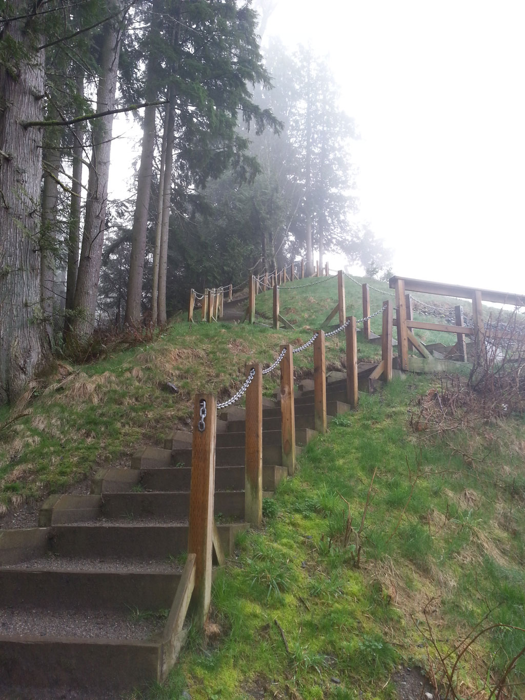 The stairs will make you feel the burn, but getting to the top is worth it.