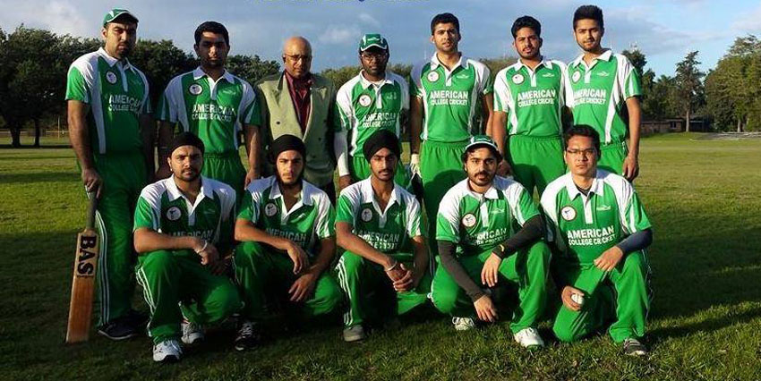 Cricket Team Represents Ufv In American Championships The