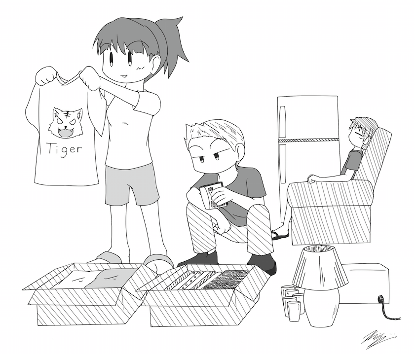 Illustration by Kenichi Kajiyama