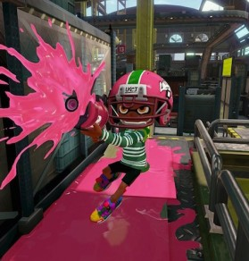 Splatoon urges players to mark territory, have fun