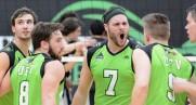 Dayton Pagliericci volleys into new season