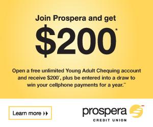 Prospera Credit Union Advertisement