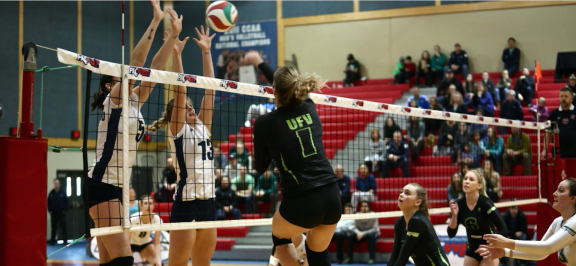 Volleyball teams come up short in PacWest playoffs