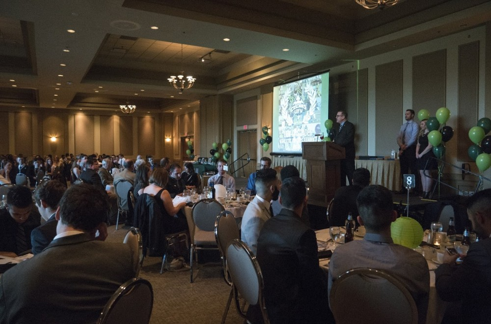 Athletics awards banquet recognizes the best of the past year in sports